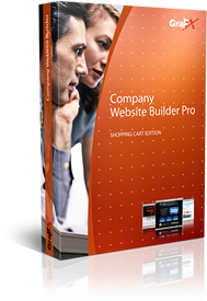 Company WebSite Builder PRO - shopping cart edition