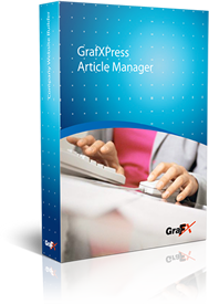 GrafXPress Article Manager